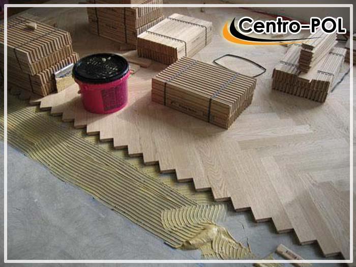 укладка паркетной доски на бетонный пол
