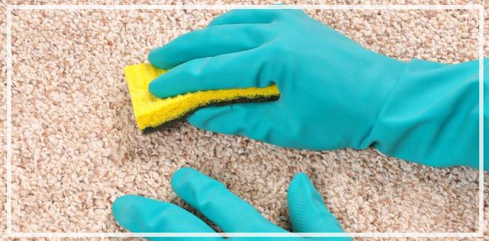 как чистить ковролин в домашних условиях