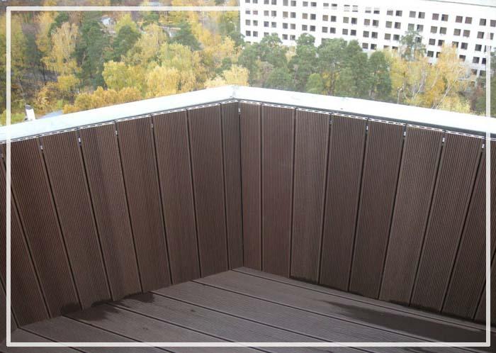 террасная доска на балконе отзывы