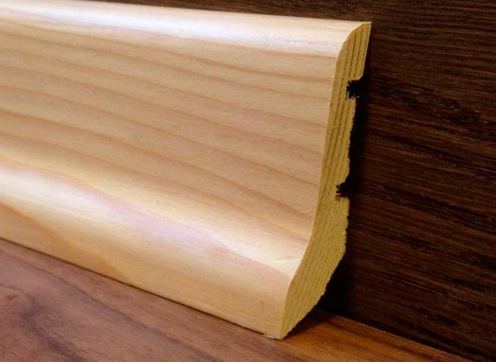 деревянные плинтуса для пола цена