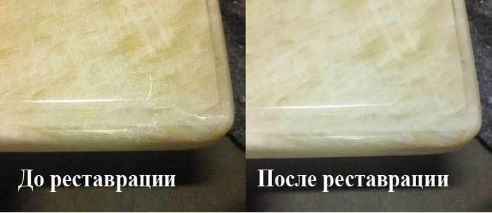 кристаллизация мраморного пола