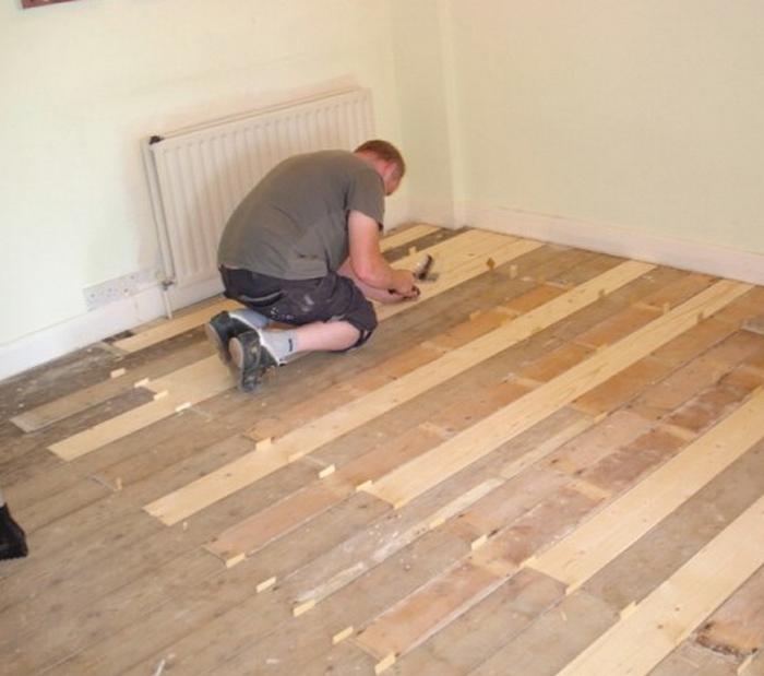 что делать с деревянным полом в квартире