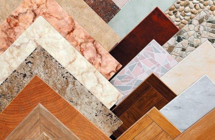 Укладка плитки на пол в кухне своими руками