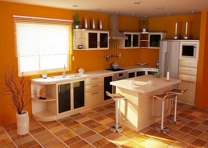 кафель на пол для кухни фото цена