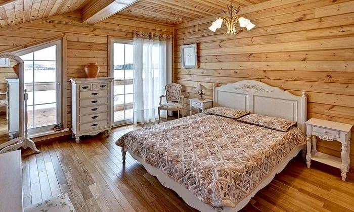 пол в спальне