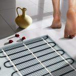водяной теплый пол в ванной комнате