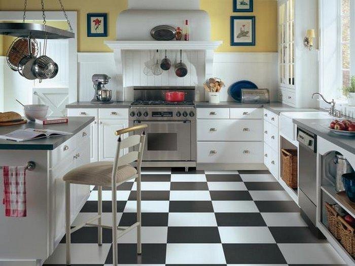 плитка на кухню на пол фото цена