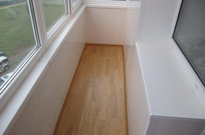 как правильно сделать пол на балконе
