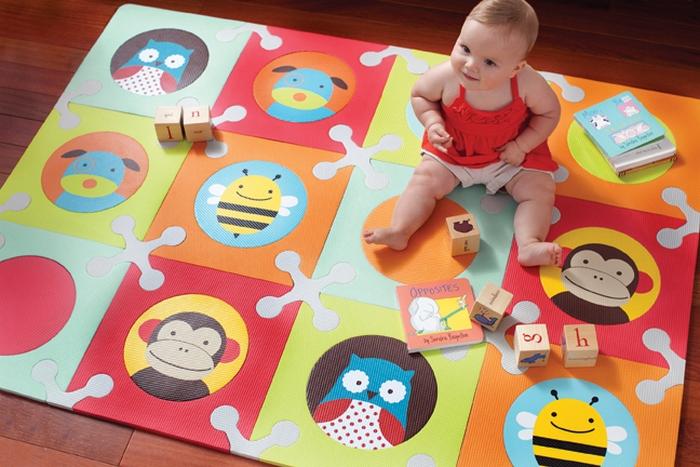 напольное покрытие для детской комнаты пазлы