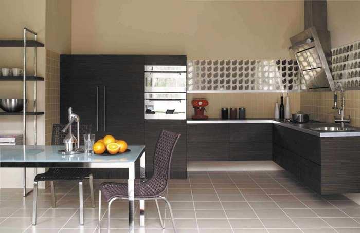 какую плитку выбрать на кухню на пол