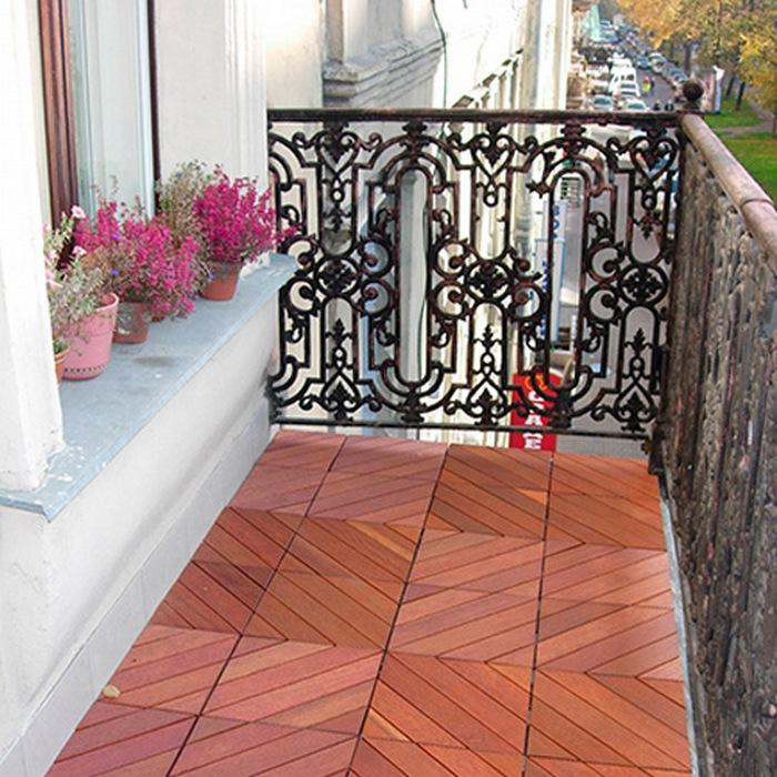 чем покрасить пол на открытом балконе
