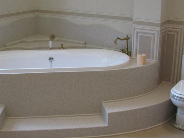 уклон пола в ванной
