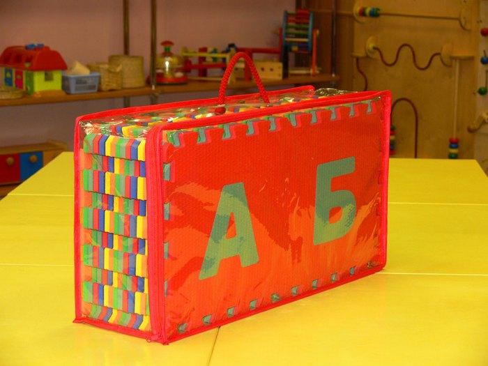 Мягкий коврик-пазл для детской комнаты