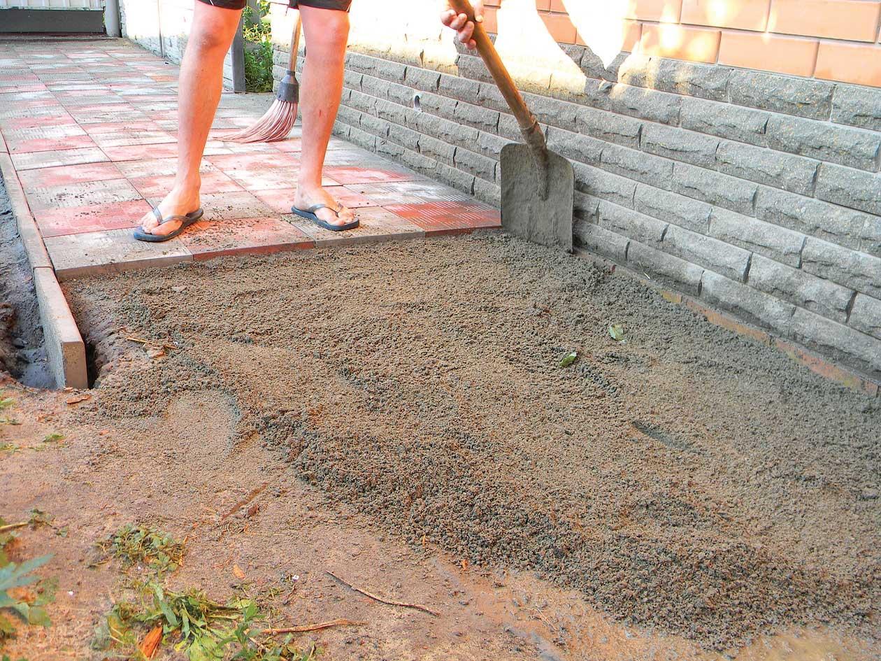 Тротуарная плитка на дачу как сделать