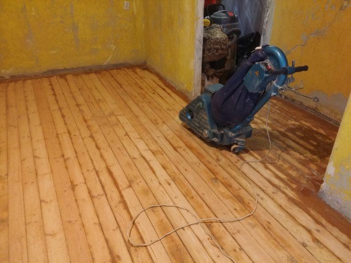подготовка деревянных полов