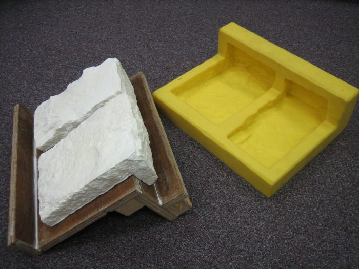 зготовление формы из силикона
