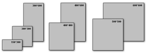 типоразмеры керамической плитки