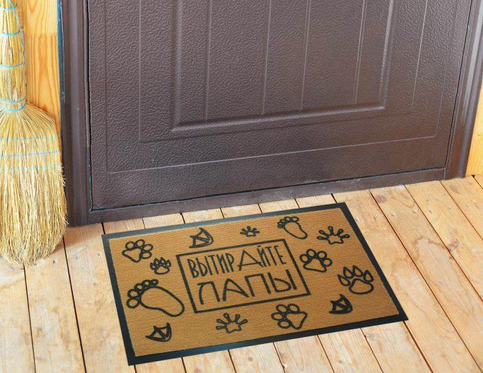 коврик у входной двери