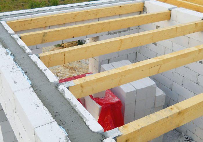 монтаж междуэтажного перекрытия